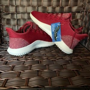 Adidas Men Originals Tubular Shadow Burgundy